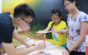 Science Workshop - dự án khoa học lớn nhất của trường Ams