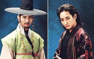 """""""Ma cà rồng"""" Lee Soo Hyuk đọ độ ngầu cùng """"hoàng tử"""" Changmin"""