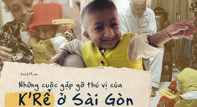 Những câu chuyện đáng yêu và xúc động trong chuyến đi Sài Gòn đầu tiên của cậu bé tí hon K'rể