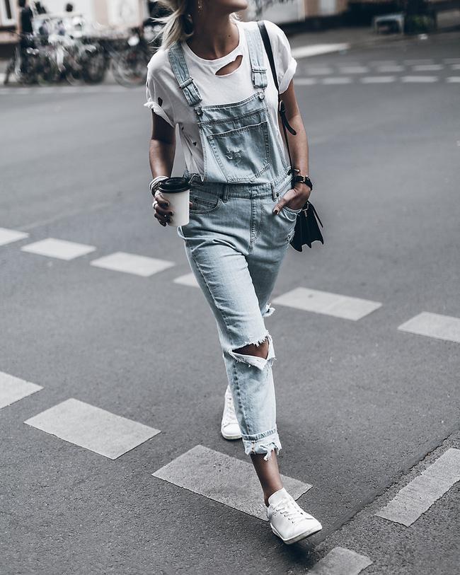 12 công thức diện áo phông trắng cool nhất bạn có thể thử ngay hôm nay - Ảnh 5.