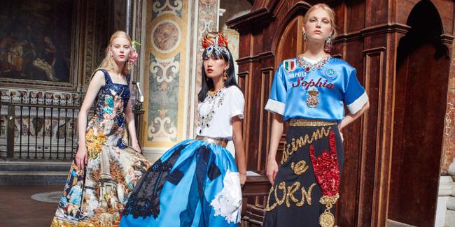 Dolce&Gabbana tổ chức lễ hội, cho đăng quang luôn Hoa hậu trên sàn diễn - Ảnh 8.